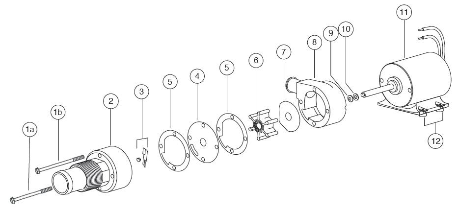 flojet rv waste pump kit manual