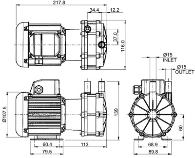 Open Impeller Centrifugal Pump, Open, Free Engine Image