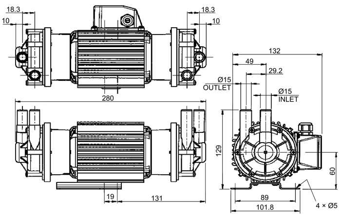 magnetic drive pumps diagram