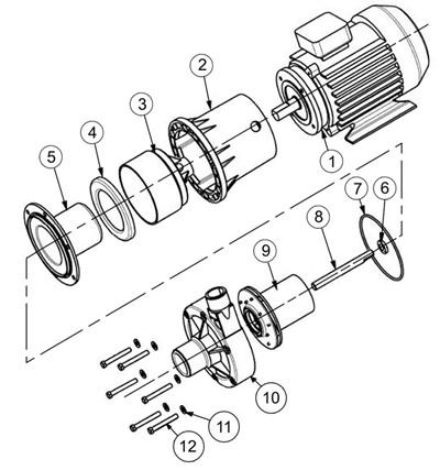 Baldor Reliance Industrial Motors Wiring Diagram